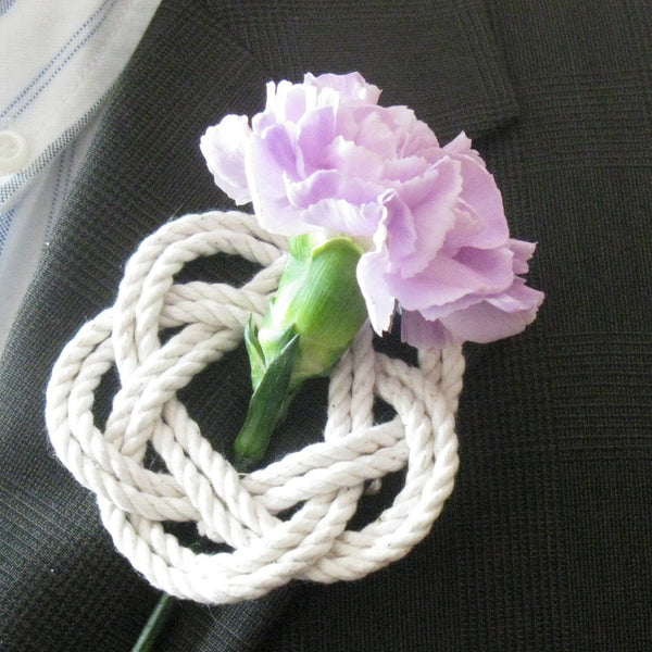 Sailor Knot Boutonniere - Mystic Knotwork nautical knot