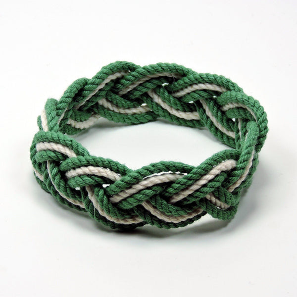 Striped Sailor Bracelet, Tropical Colors w/ White Stripe - Mystic Knotwork  - 11