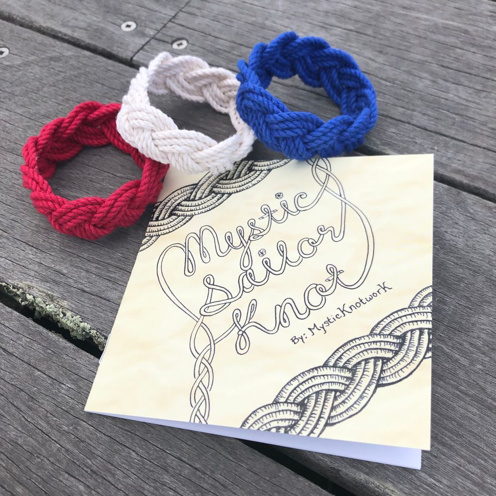 How To Tie A Sailor Knot Bracelet - Booklet and Cord