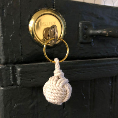 Monkey Fist Key Chain, Modern, Choose from 18 colors