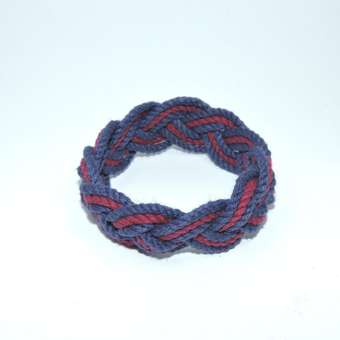 Striped Sailor Bracelet, Various Burgundy - New! - Mystic Knotwork  - 6