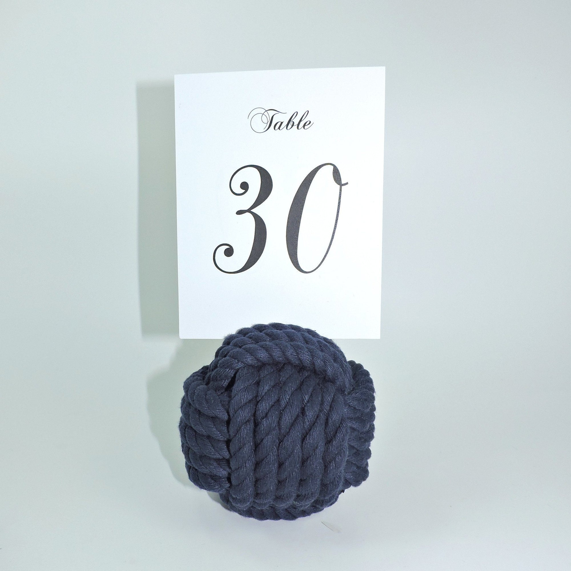 "Nautical Knot Nautical Knot Card Holder, Navy, 4.5"", 5-Pass handmade at Mystic Knotwork"
