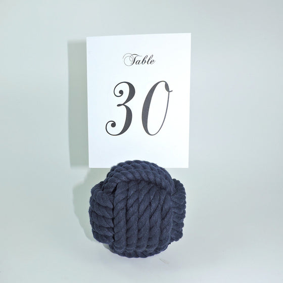 "Nautical Knot Card Holder, Navy, 4.5"", 5-Pass - Mystic Knotwork nautical knot"