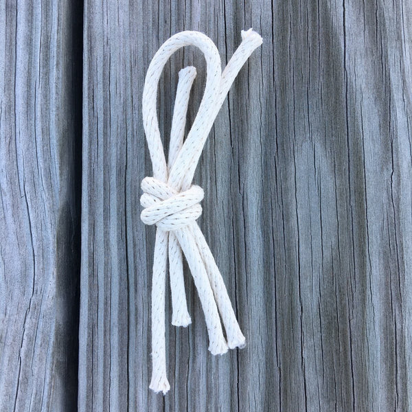 Nautical Lapel Knot Braided Cord Overhand Knot Boutonniere - Mystic Knotwork  - 2