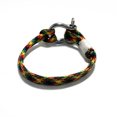 Rasta Nautical Shackle Bracelet 191