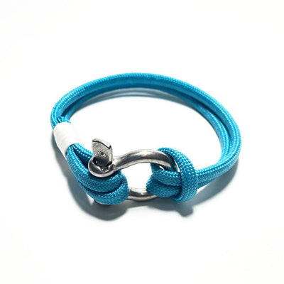 Turquoise Nautical Shackle Bracelet 016