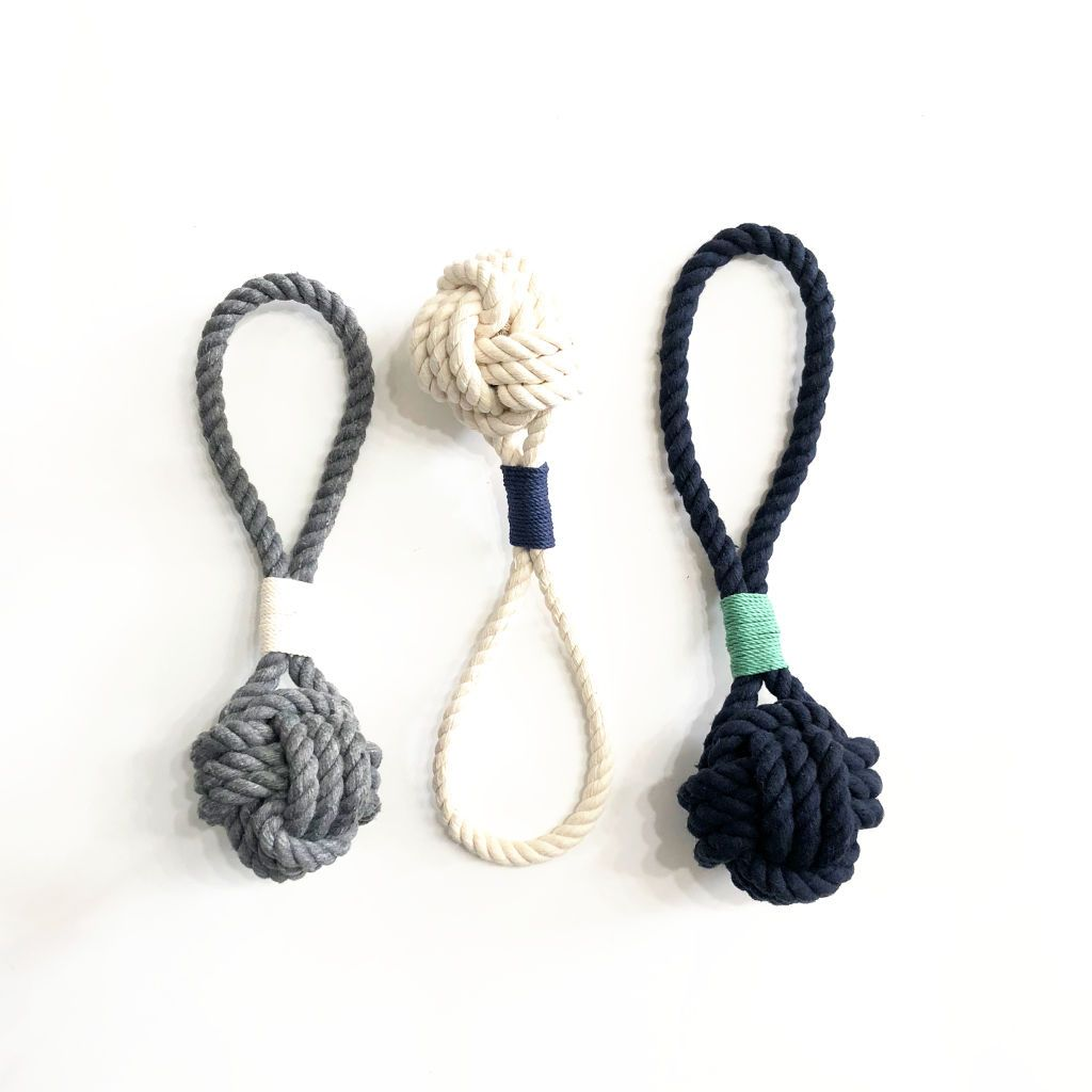 Small Monkey Fist Rope Dog Toy