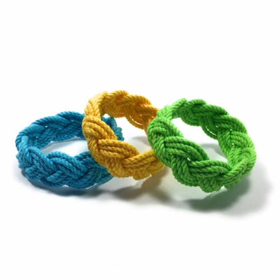 Nautical Knot Original Sailor Bracelet, 18 Color Custom Nautical Bracelet handmade at Mystic Knotwork