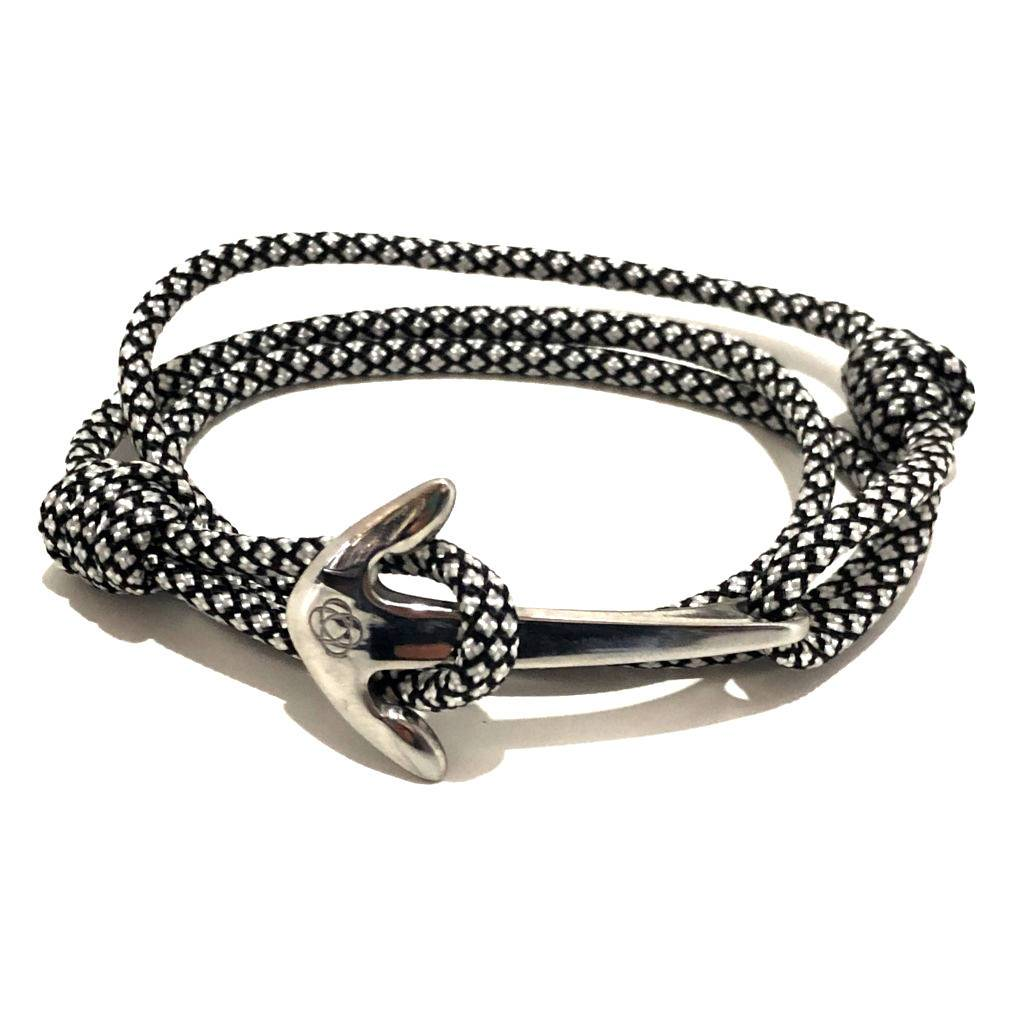 Black Diamond Adjustable Anchor Wrap Use as a Bracelet,Anklet,or Necklace 167