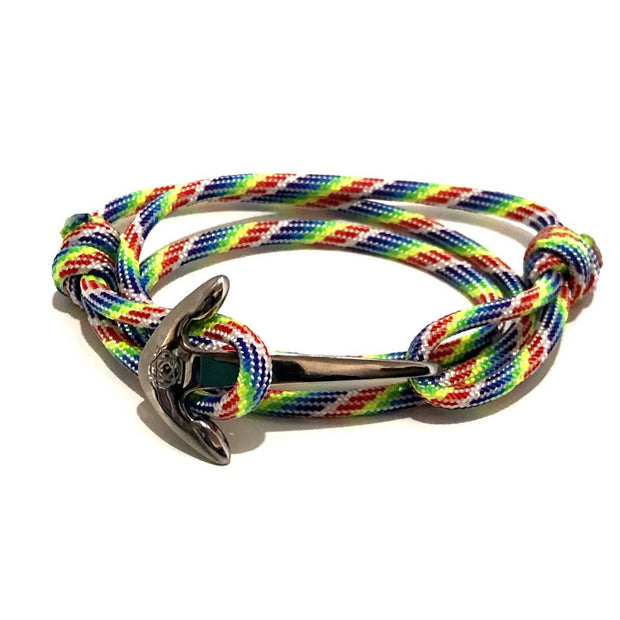 Rainbow Adjustable Anchor Wrap Use as a Bracelet,Anklet,or Necklace 137 1