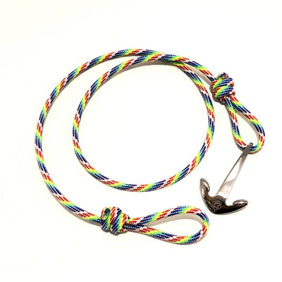 Rainbow Adjustable Anchor Wrap Use as a Bracelet,Anklet,or Necklace 137