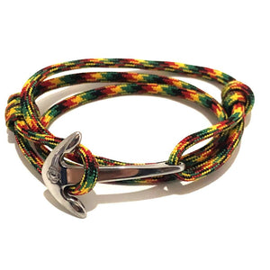 Rasta Adjustable Anchor Wrap Use as a Bracelet,Anklet,or Necklace 191