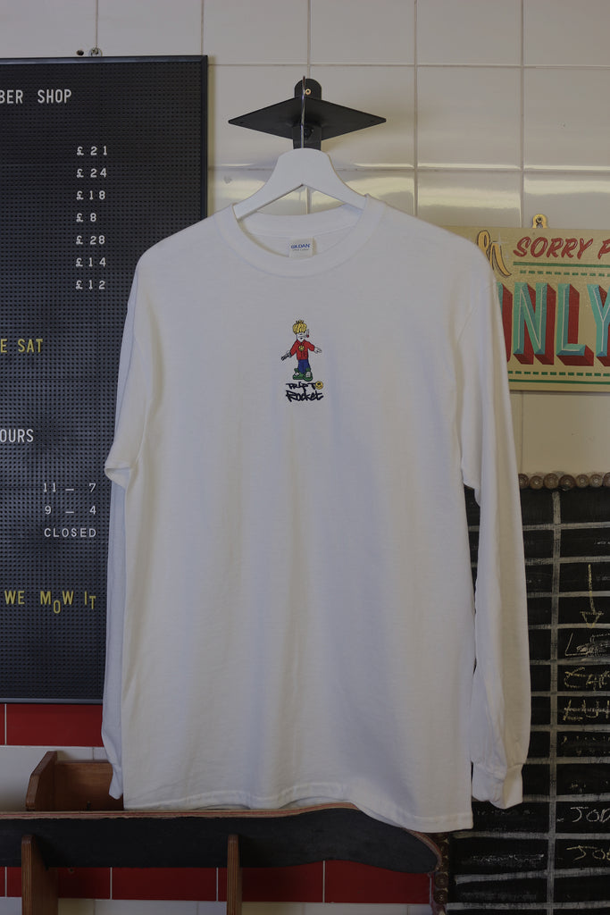 Trip Long Sleeve - White
