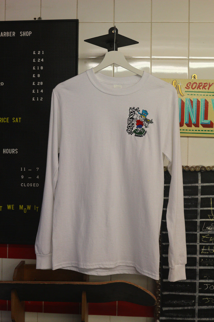 Zappa Long Sleeve - White