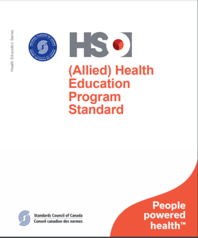 (Allied) Health Education Program Standard - CAN/HSO 40001:2020 (E)