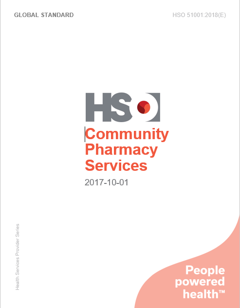 Community Pharmacy Services - HSO 51001:2018(E)