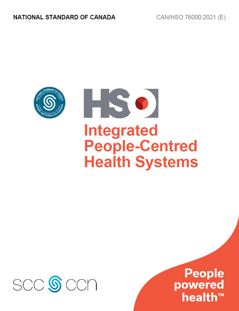 Integrated People-Centred Health Systems - CAN/HSO 76000:2021(E)