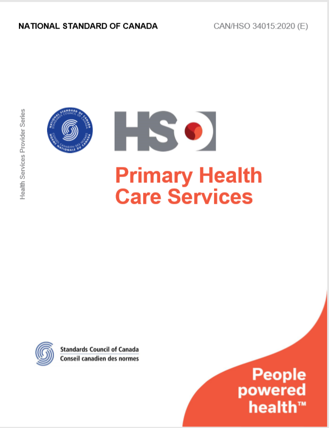 Primary Health Care Services - CAN/HSO 34015:2020 (E)