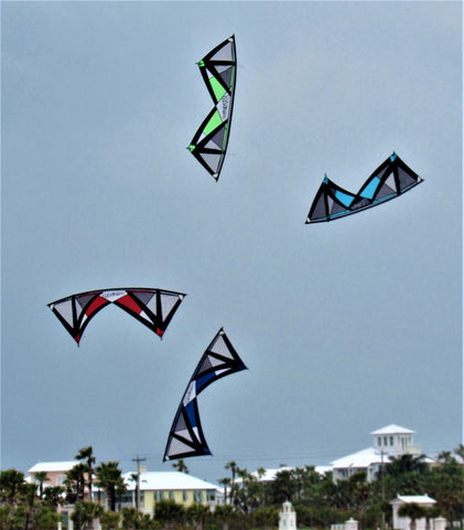 Revolution RX kites in Action