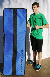 Litewave kiteboarding back board