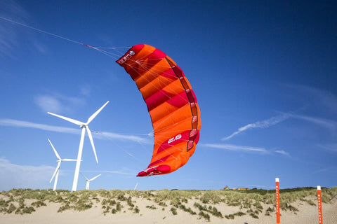 Peter Lynn Hype 2 line sport kite flying