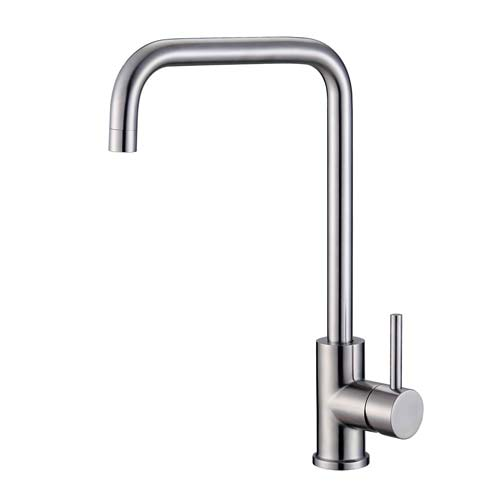 Saturn Cube Swivel Sink Mixer