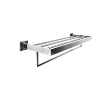 Cubus Double Towel Rack - 600mm