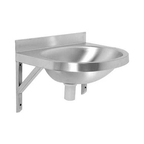 Oval B - Wall Mounted Wash Hand Basin