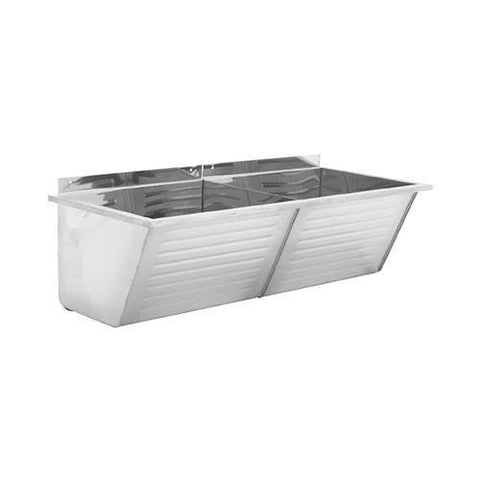 Franke ET102 Fabricated Double Wash Trough - Laundry Sink 2560005