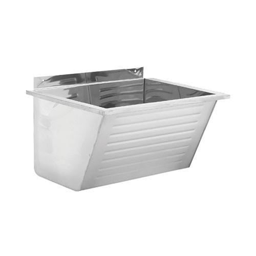 Franke ET101 Fabricated Single Wash Trough   Laundry Sink 2560006