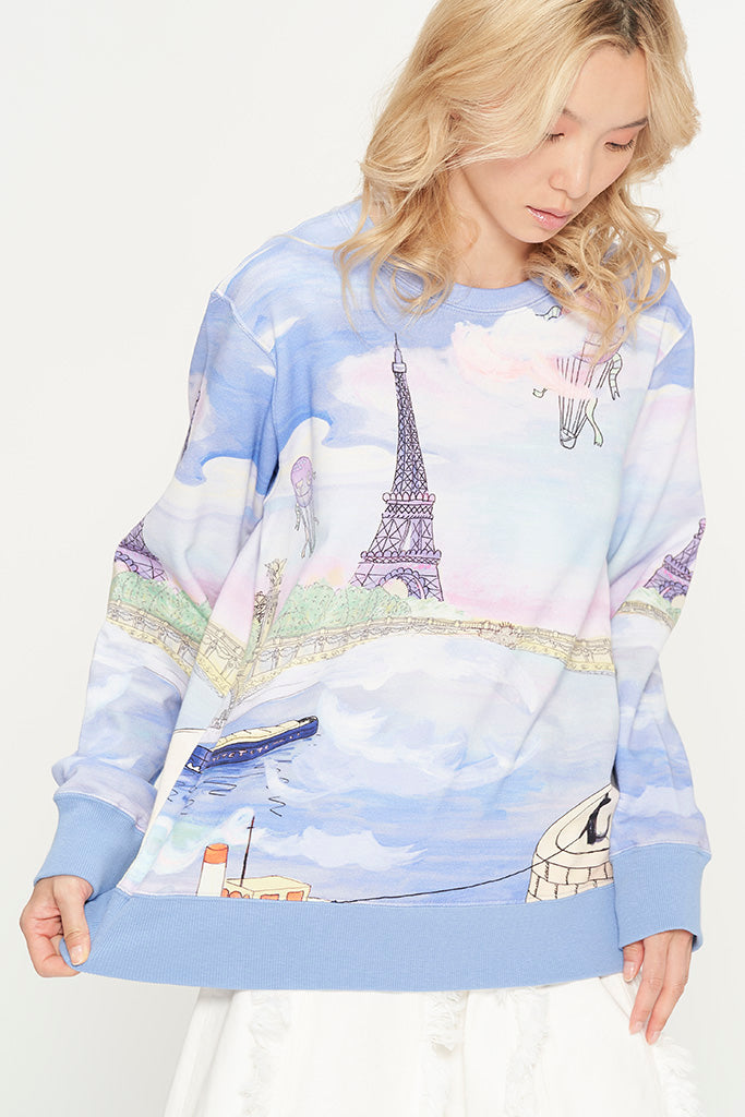 Romantic Paris Sweatshirt