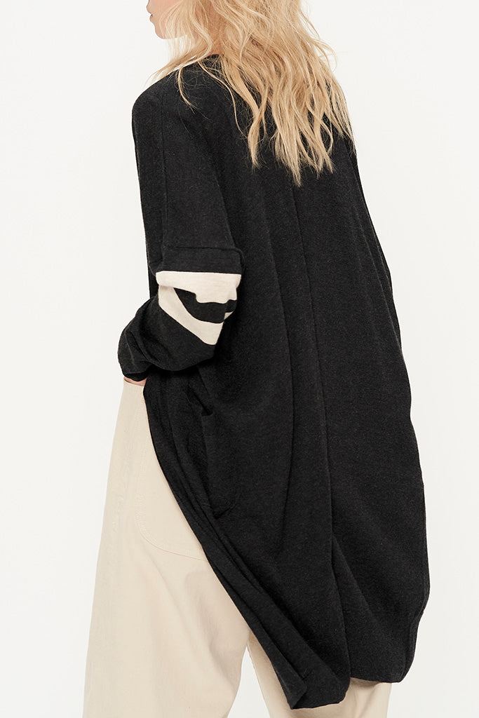 Silk Cashmere Long Cardigan