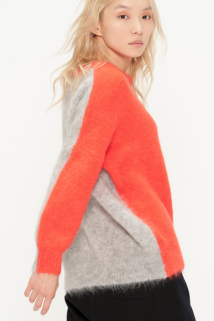 Mohair Soft Knit Sweater