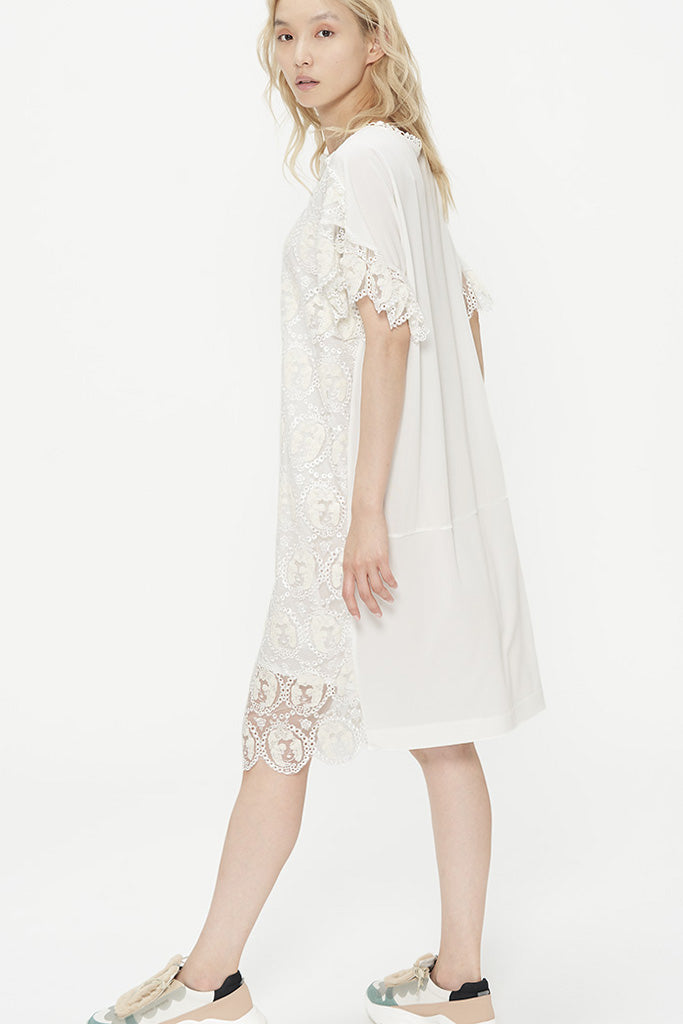 Embroidered Marie Tulle Dress