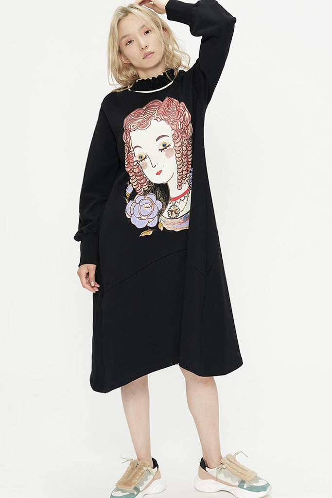Marie Sweatshirt Dress