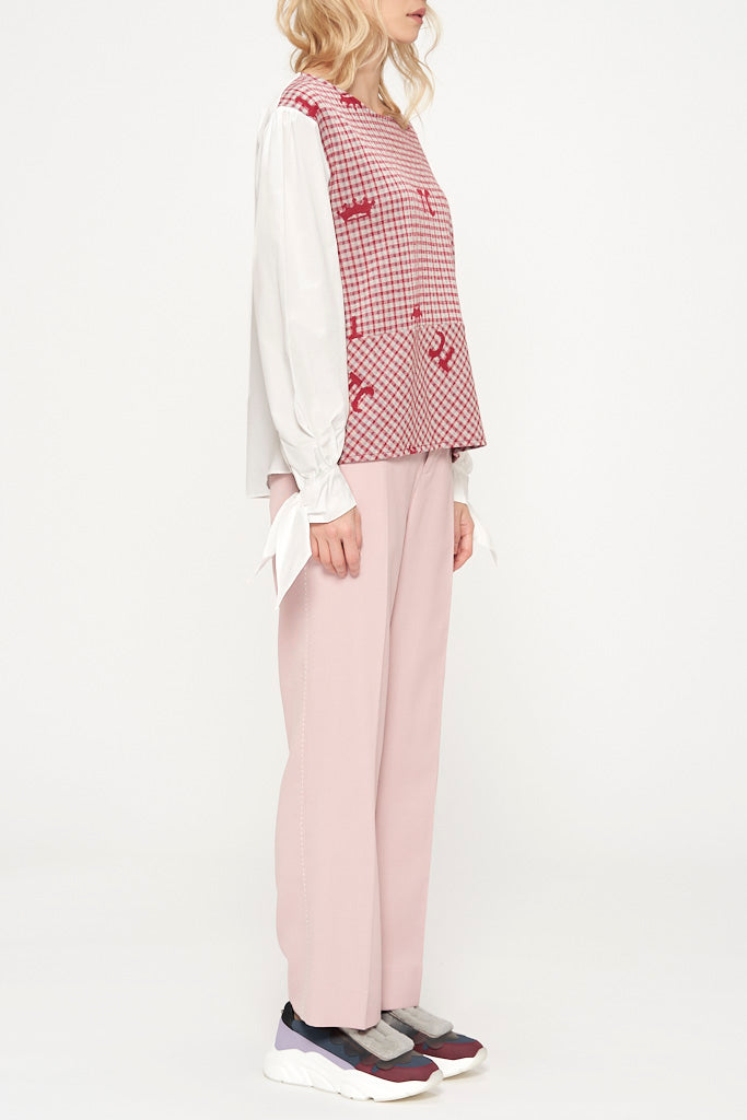 TC Crown Jacquard Blouse