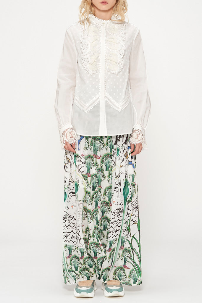 Embroidered Mary Blouse