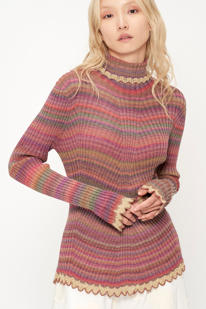Space Whole Knit Sweater