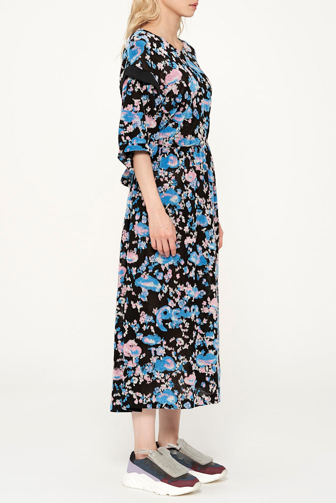 Cloud Jacquard Dress