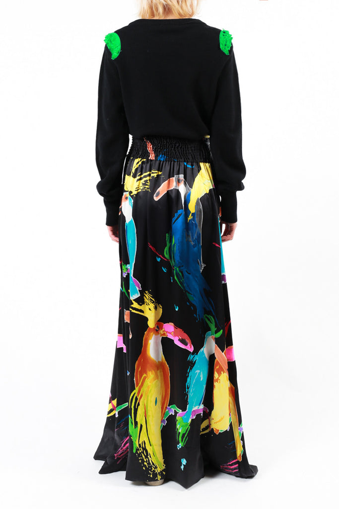 "Silk Long ""Toucan"""