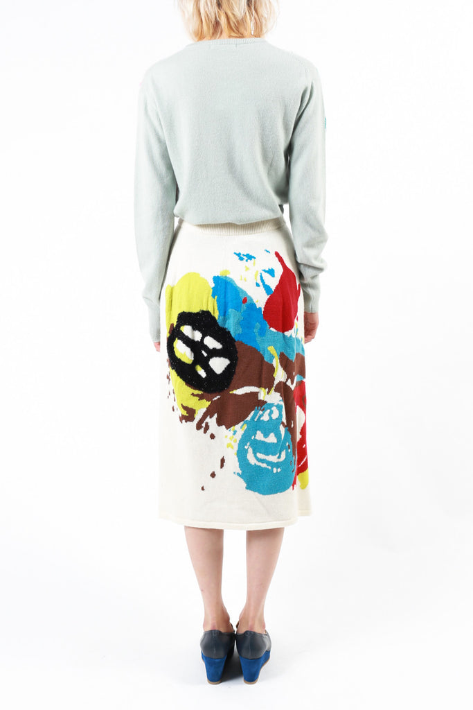 """Abstract Fireworks"" Skirt"