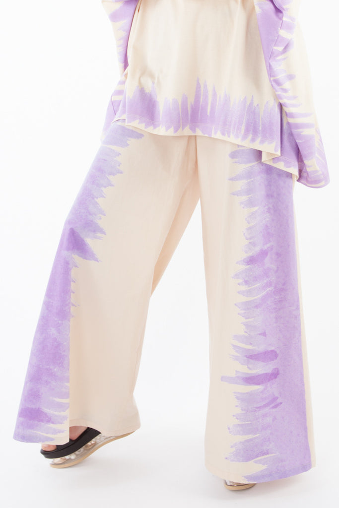 """Watercolor"" pants"