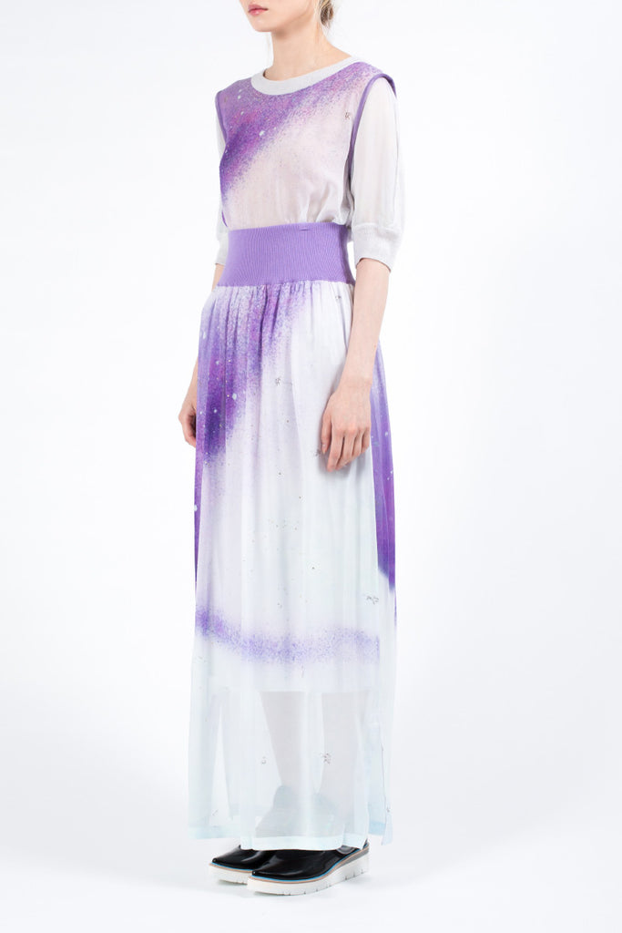 """Aurora"" Silk Skirt"