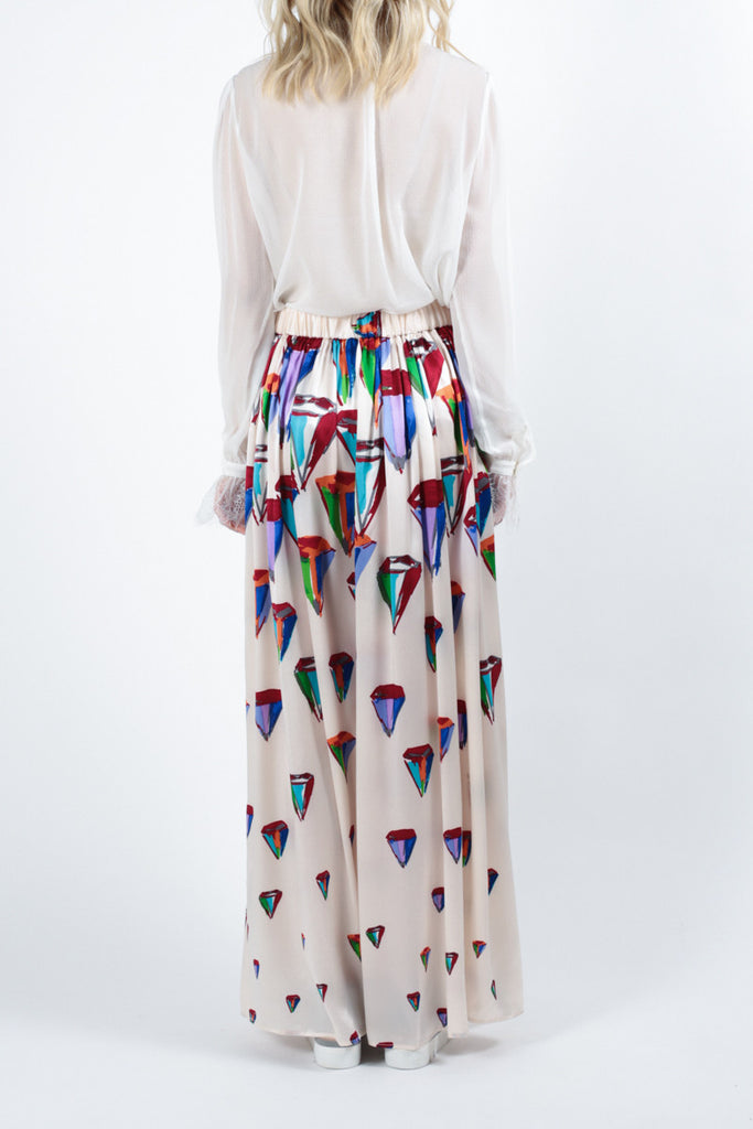 Diamond Shower Skirt