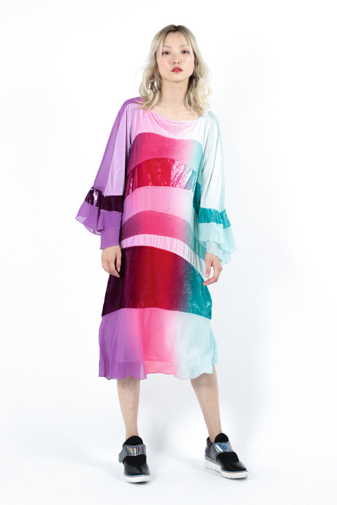 Graded Rainbow Dress