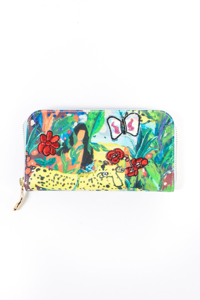 """Cuban Jungle"" Purse"