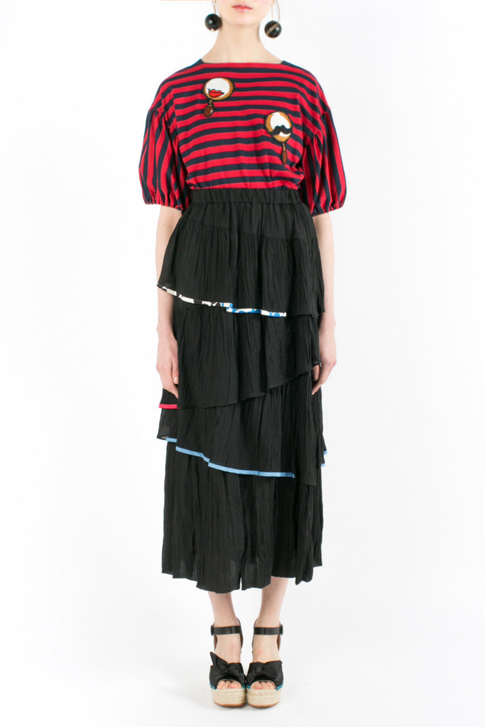 «Cubanisata Maracas» Long Skirt