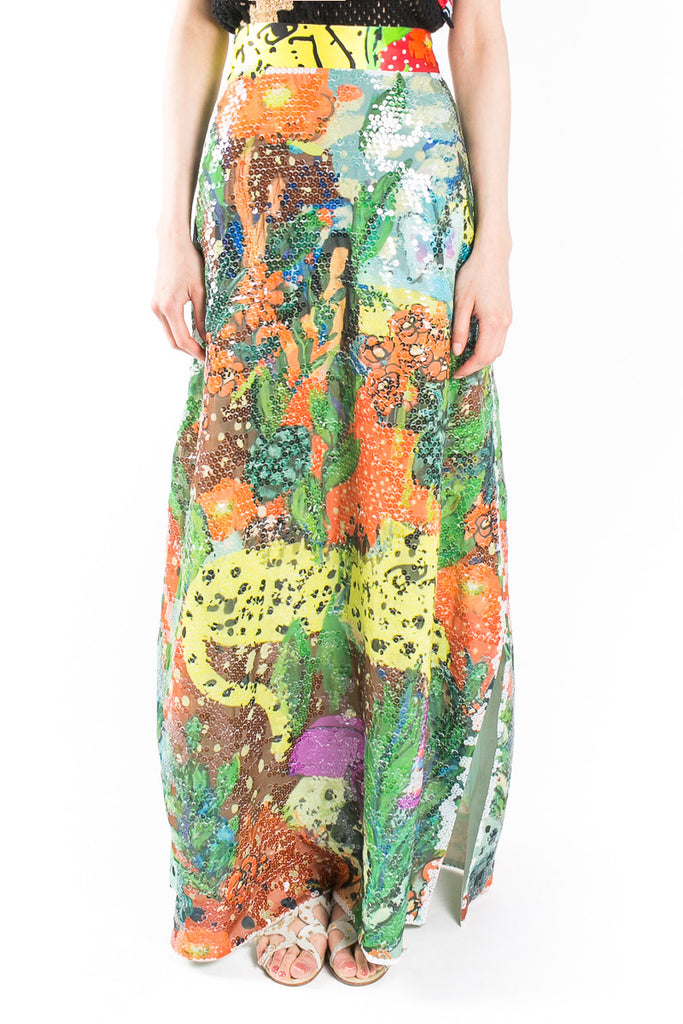 """Cuban Jungle"" Skirt"