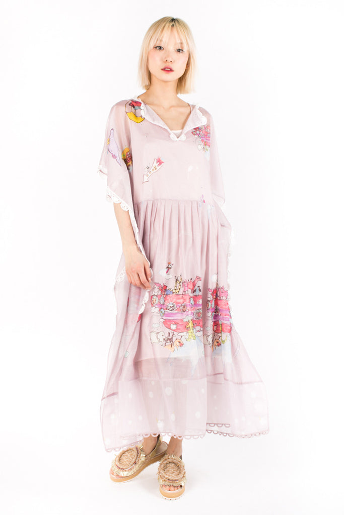 «Noah's Arch» Long Tunic Dress