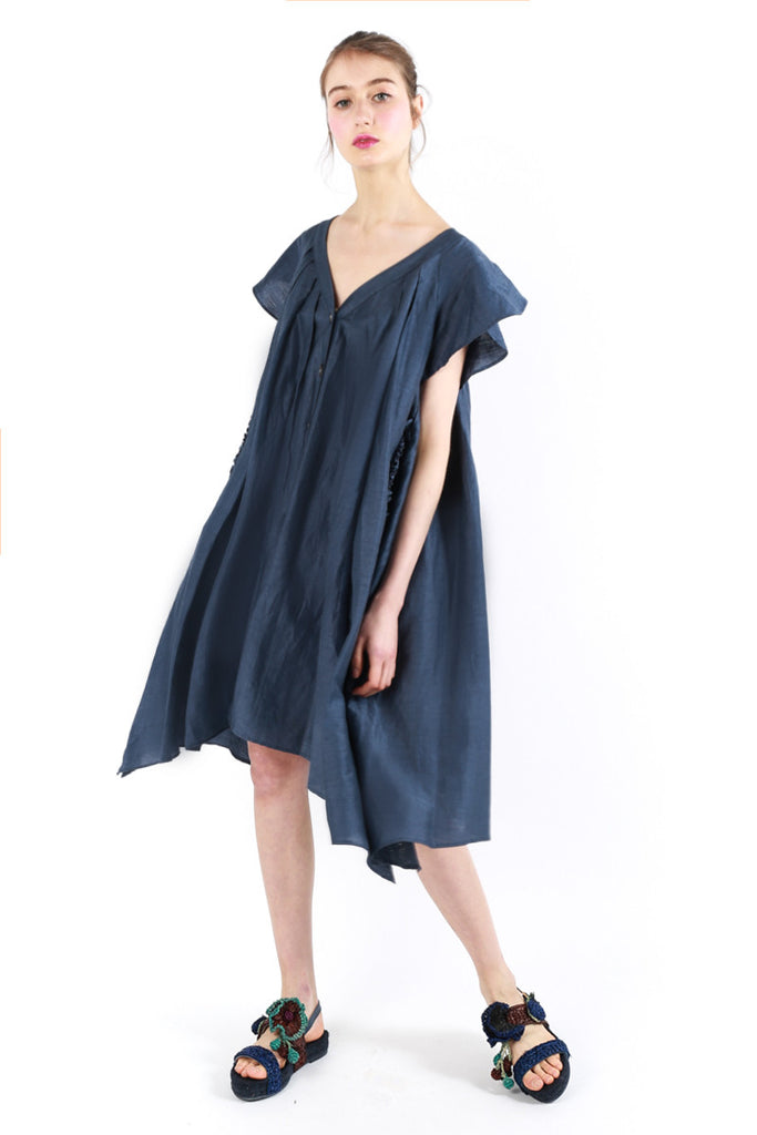Oversized «Fiesta» Denim Dress